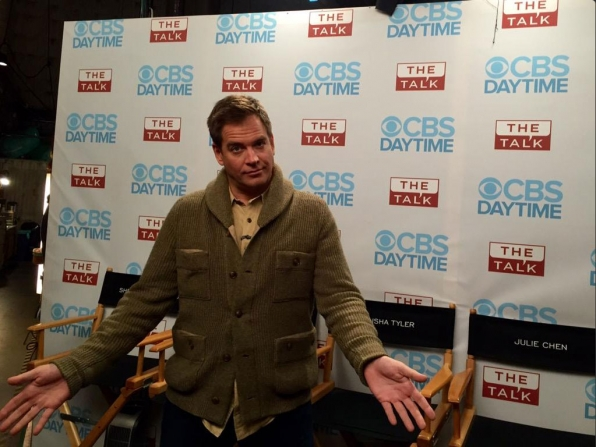 9. Michael Weatherly Returns!
