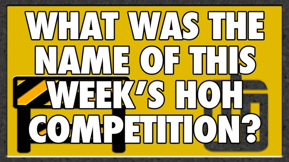 What was the name of this week's HOH Competition?
