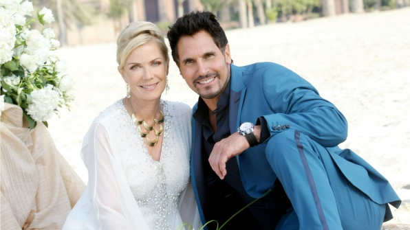 Brooke Logan and Bill's nuptial ceremony in Dubai was cut short by Ridge Forrester in 2014.