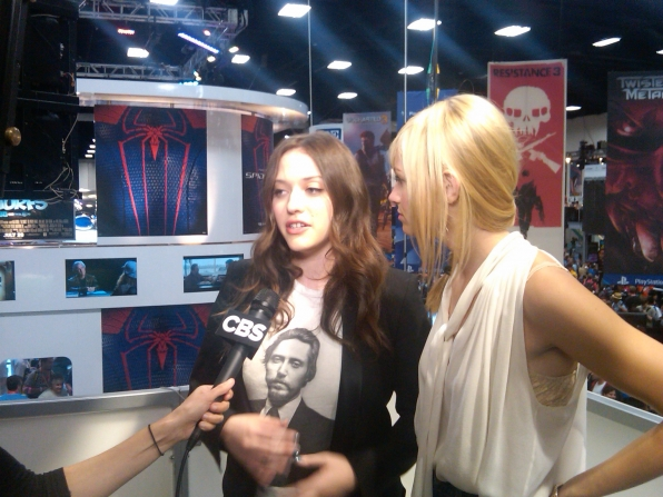 The 2 Broke Girls at Comic-Con 2011