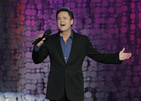 Donny Osmond's Special Holiday Performance! (Friday 11-18-11)