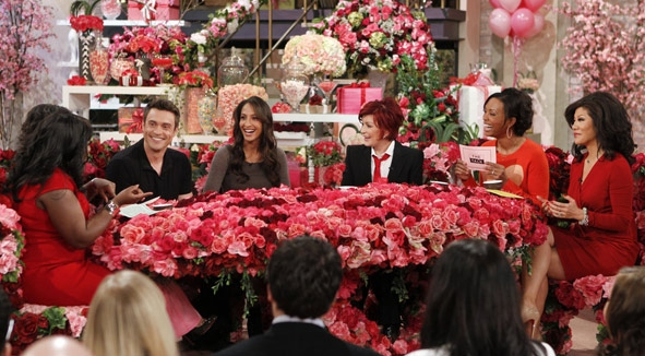 Video: Daniel Goddard & Christel Khalil on The Talk