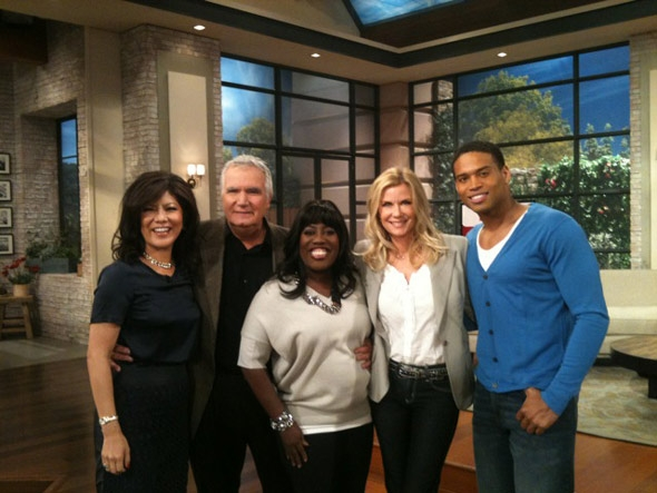 B&B Cast with Julie & Sheryl