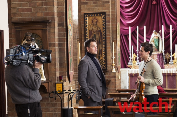 Michael Weatherly and Charlie Siem - Behind the Scenes