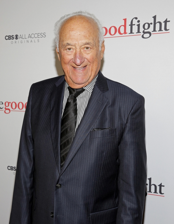 Jerry Adler is all smiles on The Good Fight red carpet.
