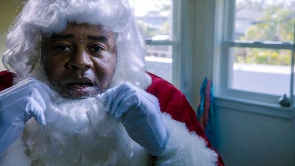 It's Santa! in Season 4 Episode 11