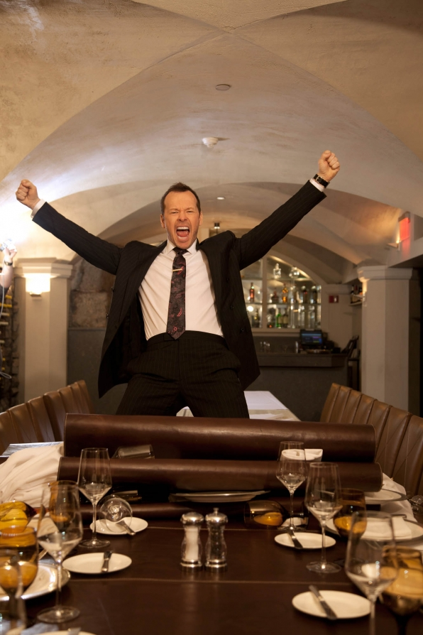 Donnie Wahlberg, especially his intoxicating happy energy