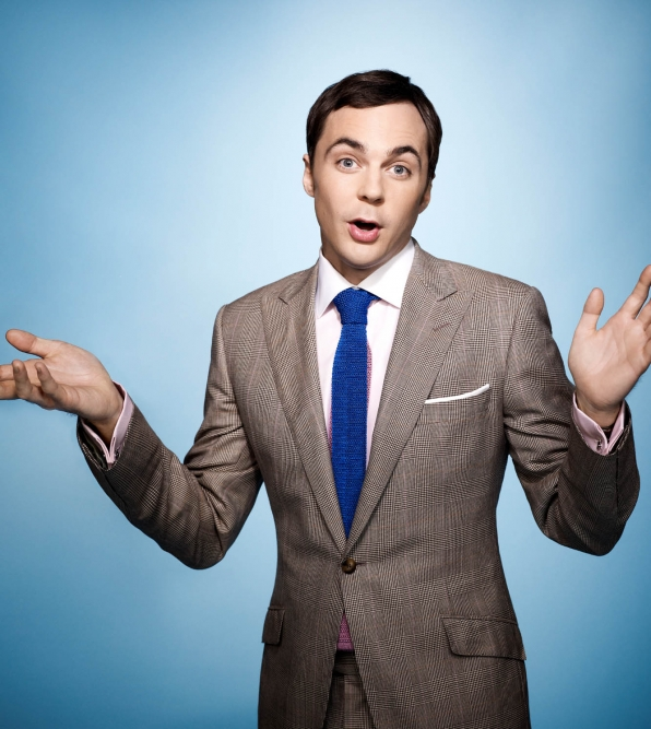 Jim Parsons, especially when he's suited for the occasion