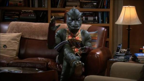 """""""No, Gorn, no. That's where I sit."""""""