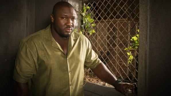 It's Nonso Anozie, who plays Abraham Kenyatta on Zoo!