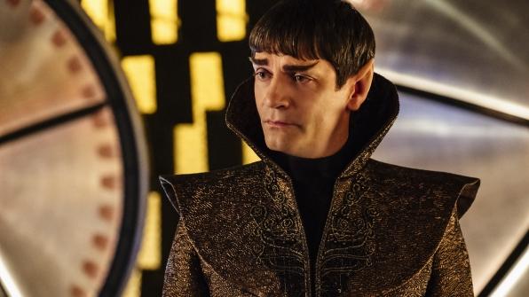 Vulcan Ambassador Sarek (James Frain)