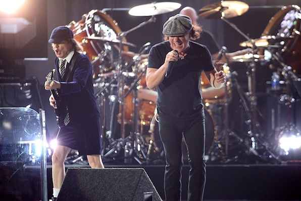ACDC Kicked Things Off