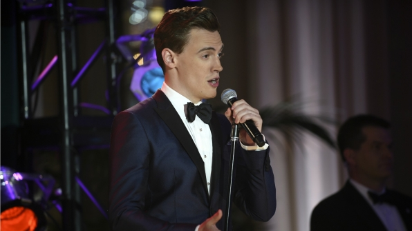 Erich Bergen from Madam Secretary