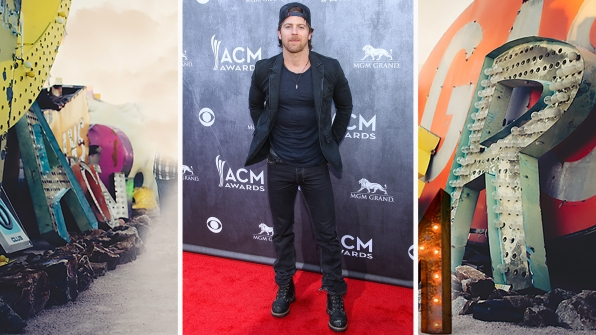 "Kip Moore fulfills our ""Heart's Desire"" with this steamy, laced-up ensemble."