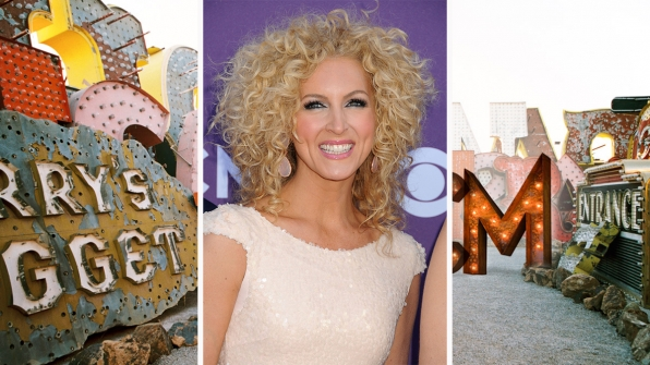 Little Big Town's Kimberly Schlapman proves curls just wanna have fun.