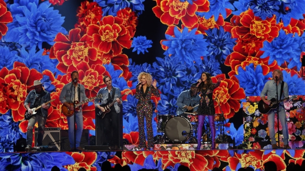 "Little Big Town performs ""Happy People"" at the 52nd ACM Awards"