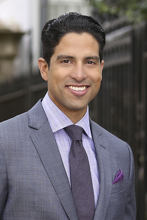Adam Rodriguez and Baranski were both on Ugly Betty. What CBS star was in 90's show Brooklyn South with Rodriguez?