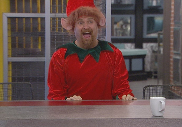Why is Adam Wearing an Elf Costume?
