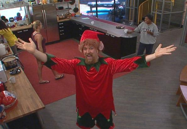 Adam in an Elf Costume