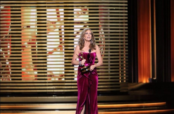 Congratulations to Mom's Allison Janney on her Emmy win for Supporting Actress in a Comedy