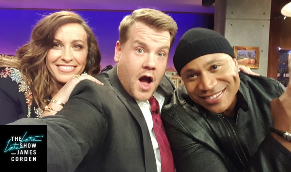 LL COOL J chillin' with Alanis Morissette