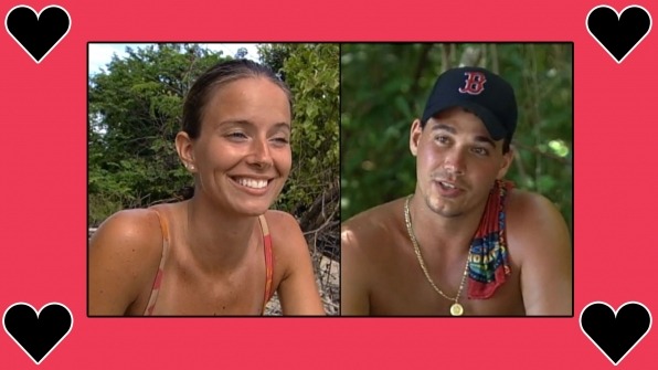 Amber Brkich and Rob Mariano