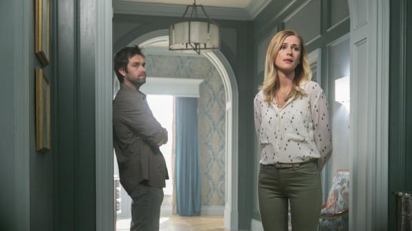 Garrett listens to Tessa's concerns.