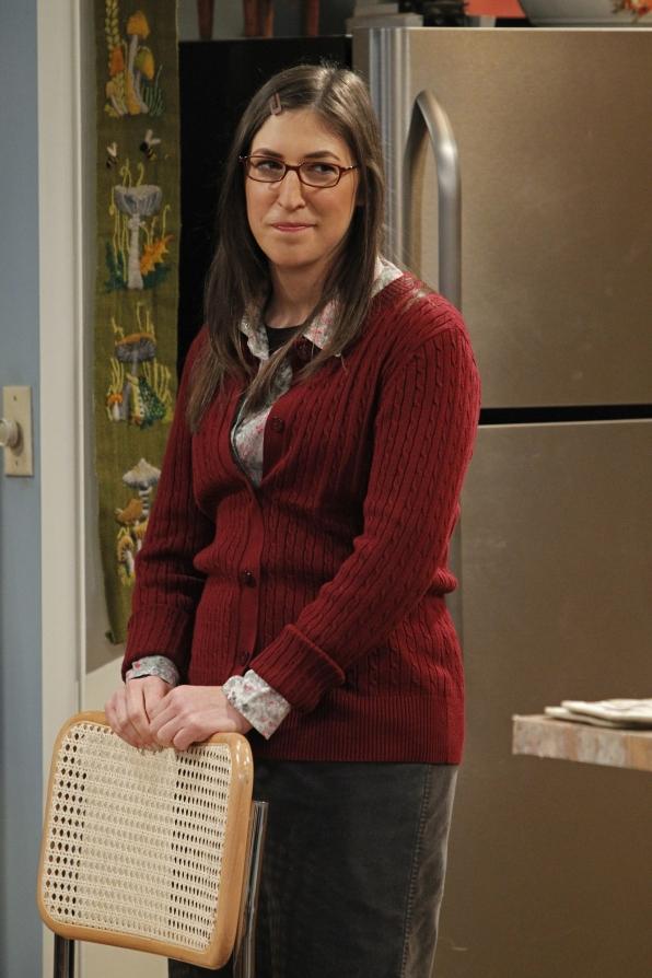Amy: Mayim Bialik