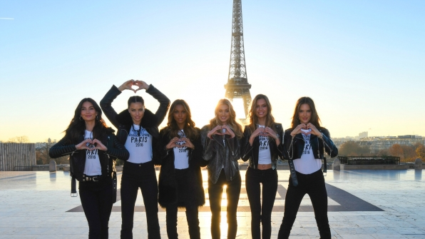 The Angels love the City of Lights.