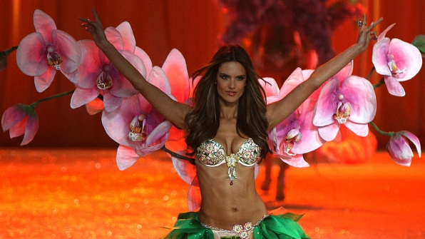 Alessandra Ambrosio brought the flower power in 2012.