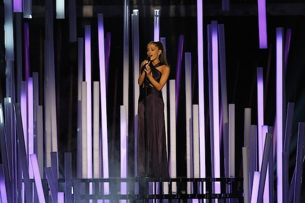 Ariana Grande Belted It Out