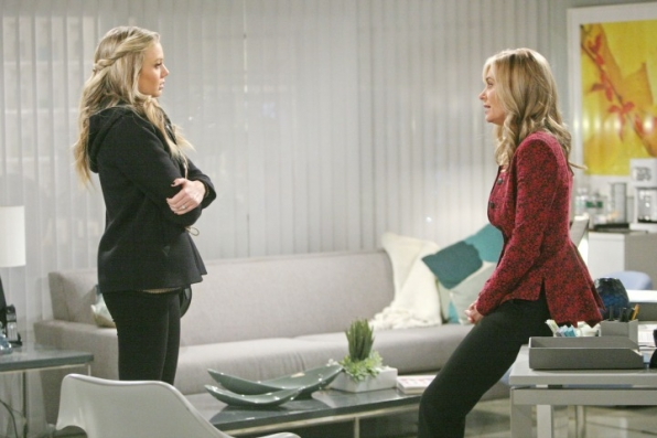 Abby confides in Ashley.