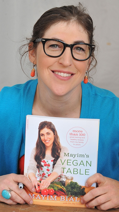 13. She's a devout vegan and even penned her own vegan cookbook.
