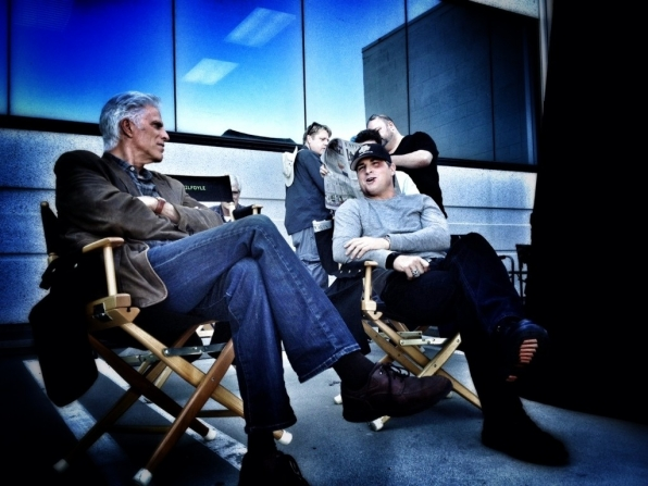 Ted Danson and George Eads