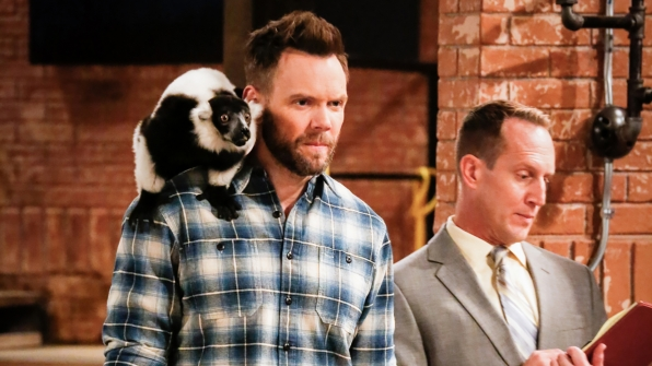 Jack saves an innocent lemur from Clark's photoshoot.