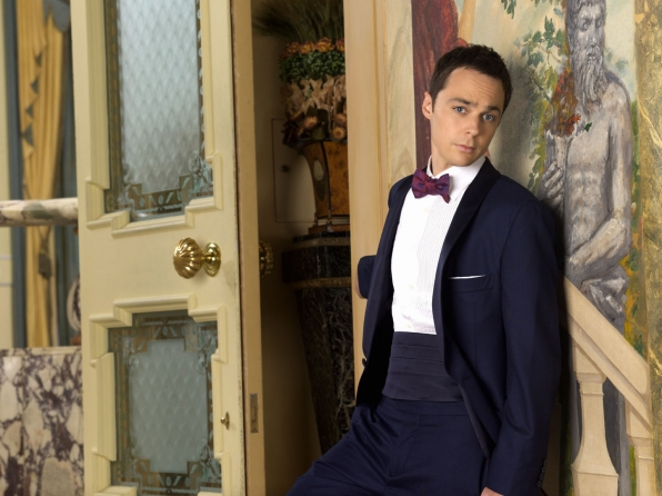 Jim Parsons rocks this deluxe tux