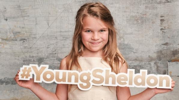Raegan Revord of Young Sheldon