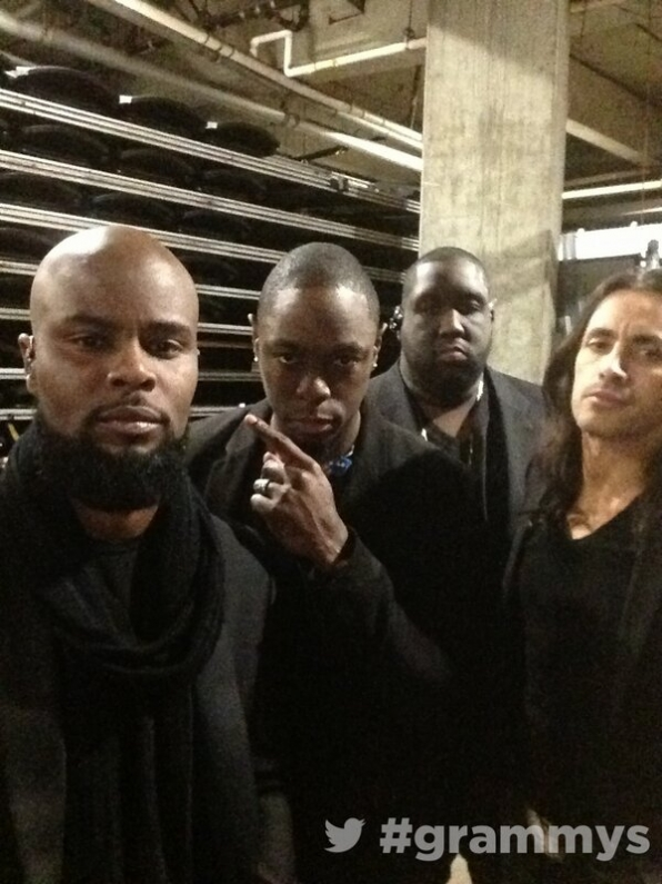 Backstage GRAMMYs