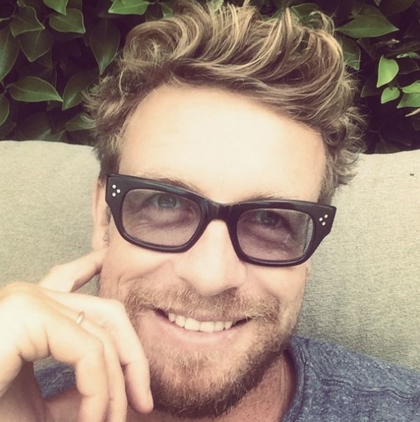 7. Simon Baker - The Mentalist