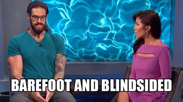 Austin gets the boot in BB's first-ever barefoot eviction