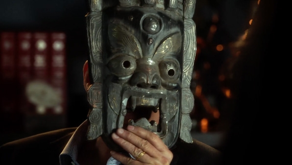7. Tribal mask