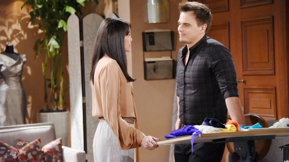 Quinn attempts to convince Wyatt to support her pursuit of happiness.