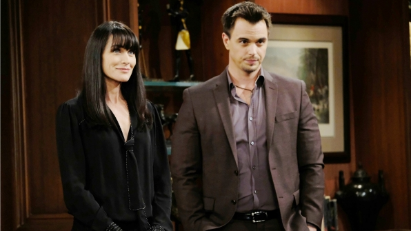 Eric asks Quinn and Wyatt to act on his behalf at Forrester Creations until he makes a full recovery.