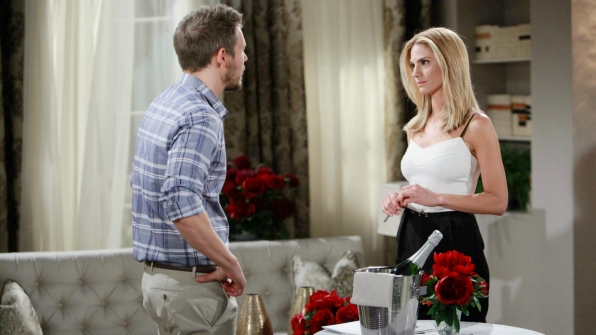 Eva helps Liam work through his true feelings for Steffy and Quinn.