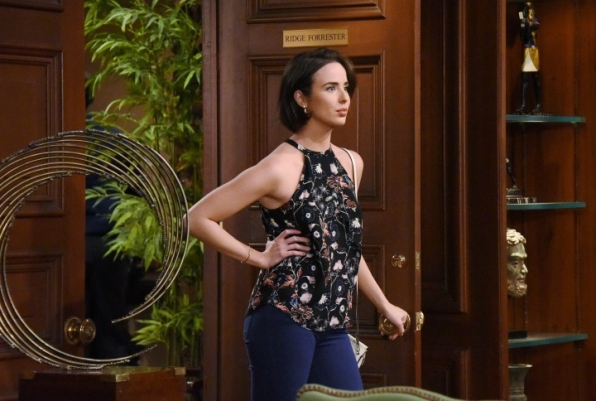 Ivy barges back into Steffy's life.