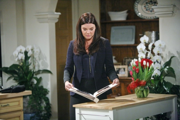 Sisters Brooke and Katie face another obstacle when Katie finds something personal of Brooke's that pertains to Bill.