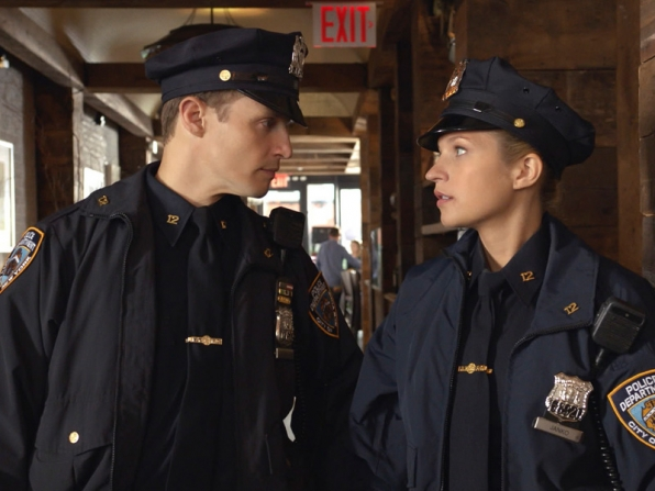 Jamie and Eddie - Blue Bloods