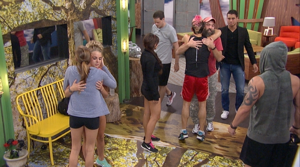 Donny is evicted