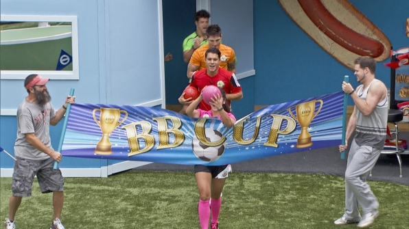Getting ready to compete