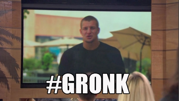 5. Football star Rob Gronkowski wanted to party with the Houseguests.